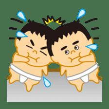 Everyday of sumo wrestlers sticker #1558221