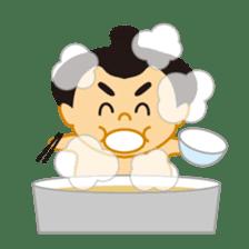 Everyday of sumo wrestlers sticker #1558223
