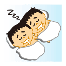 Everyday of sumo wrestlers sticker #1558224