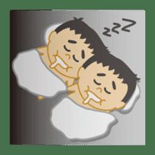 Everyday of sumo wrestlers sticker #1558228
