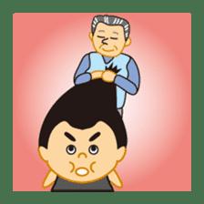 Everyday of sumo wrestlers sticker #1558233