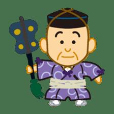 Everyday of sumo wrestlers sticker #1558234