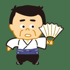 Everyday of sumo wrestlers sticker #1558235