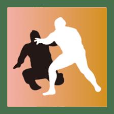 Everyday of sumo wrestlers sticker #1558247