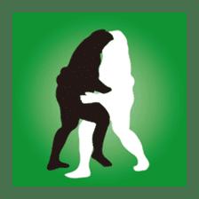Everyday of sumo wrestlers sticker #1558250