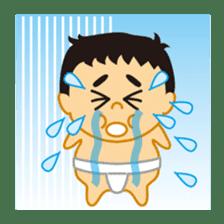 Everyday of sumo wrestlers sticker #1558251