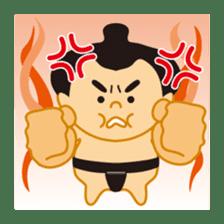 Everyday of sumo wrestlers sticker #1558252