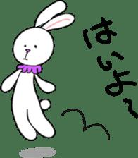 Stuffed rabbit sticker #1561216
