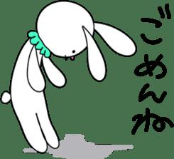 Stuffed rabbit sticker #1561218