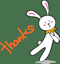 Stuffed rabbit sticker #1561219