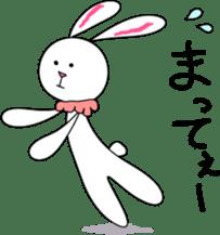 Stuffed rabbit sticker #1561223