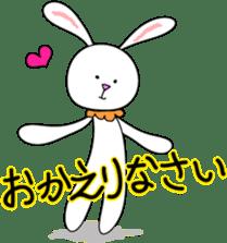 Stuffed rabbit sticker #1561225