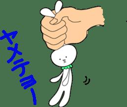 Stuffed rabbit sticker #1561233