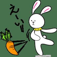 Stuffed rabbit sticker #1561234