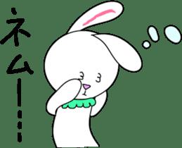 Stuffed rabbit sticker #1561238