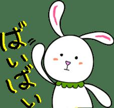 Stuffed rabbit sticker #1561249