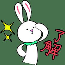 Stuffed rabbit sticker #1561251