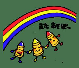 Various crayons. sticker #1561737