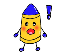 Various crayons. sticker #1561746
