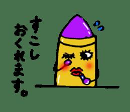 Various crayons. sticker #1561764