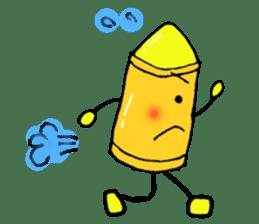 Various crayons. sticker #1561767