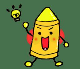 Various crayons. sticker #1561769