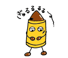 Various crayons. sticker #1561772