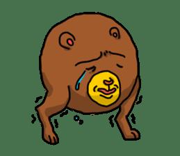 Legs Bear sticker #1566139