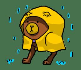 Legs Bear sticker #1566142