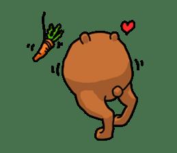 Legs Bear sticker #1566144