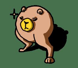 Legs Bear sticker #1566145
