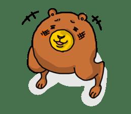 Legs Bear sticker #1566146