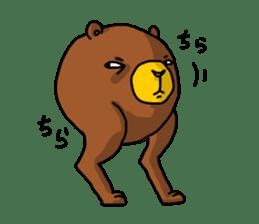Legs Bear sticker #1566148