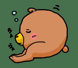 Legs Bear sticker #1566149