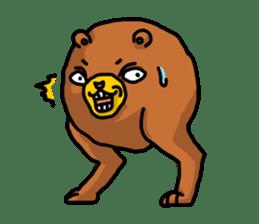 Legs Bear sticker #1566151