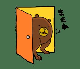 Legs Bear sticker #1566152