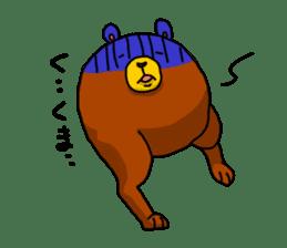 Legs Bear sticker #1566153