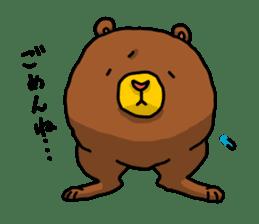 Legs Bear sticker #1566156