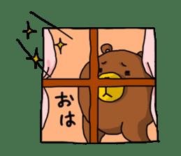 Legs Bear sticker #1566158