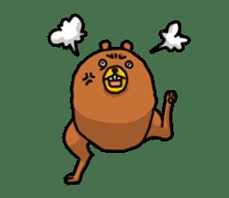 Legs Bear sticker #1566160