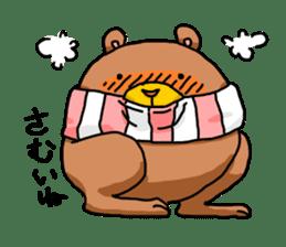 Legs Bear sticker #1566162