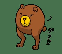 Legs Bear sticker #1566166