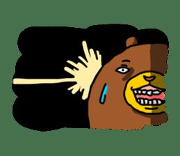 Legs Bear sticker #1566168