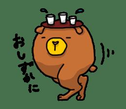 Legs Bear sticker #1566169