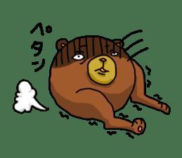 Legs Bear sticker #1566170