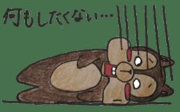 Diet of the squirrel sticker #1567183