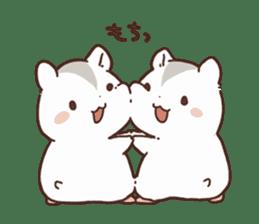 mochi hamuchan sticker #1567300