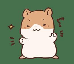 mochi hamuchan sticker #1567301