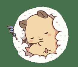 mochi hamuchan sticker #1567309