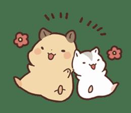 mochi hamuchan sticker #1567328